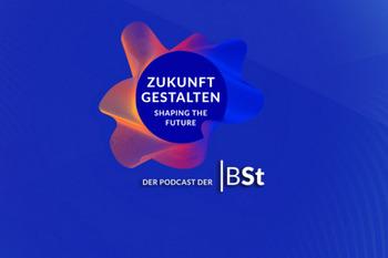 """Das Logo des Podcasts """"Zukunft gestalten""""."""