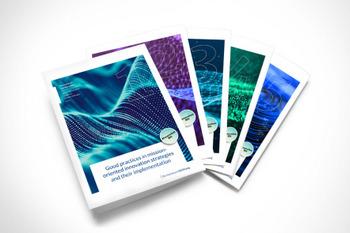 """Die Publikationen zu """"Innovation for Transformation""""."""