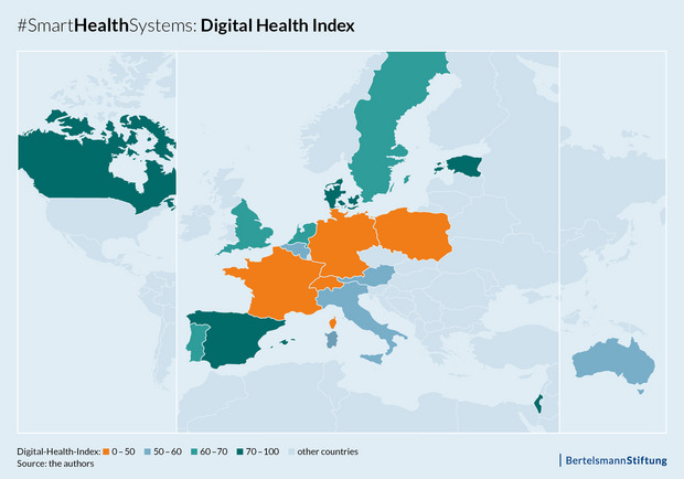 Digital-Health-Index:Map