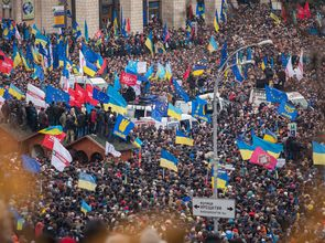 Euromaidan_Kyiv_1-12-13_by_Gnatoush_005.jpg(© Nessa Gnatoush / Wikimedia Commons © CC BY 2.0  http://creativecommons.org/licenses/by/2.0/deed.en)
