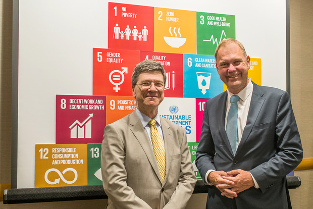 New York, USA, Launch of the SDG