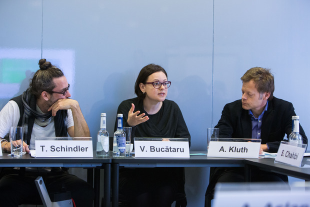 "Pre-Conference Workshop ""Trying Times – Rethinking Social Cohesion"", Berlin; Thomas Schindler, Victoria Bucătaru, Andreas Kluth"