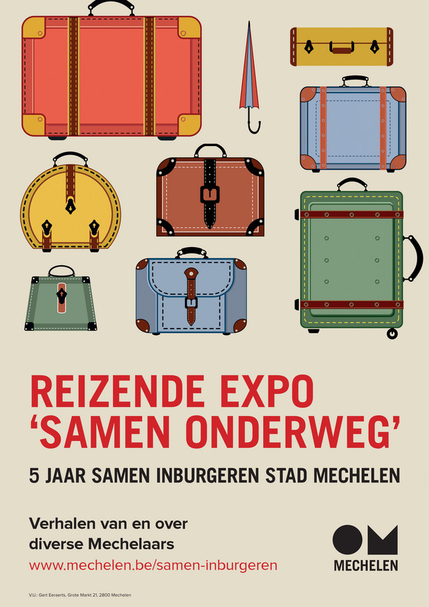 Poster of the Samen Inburgeren project