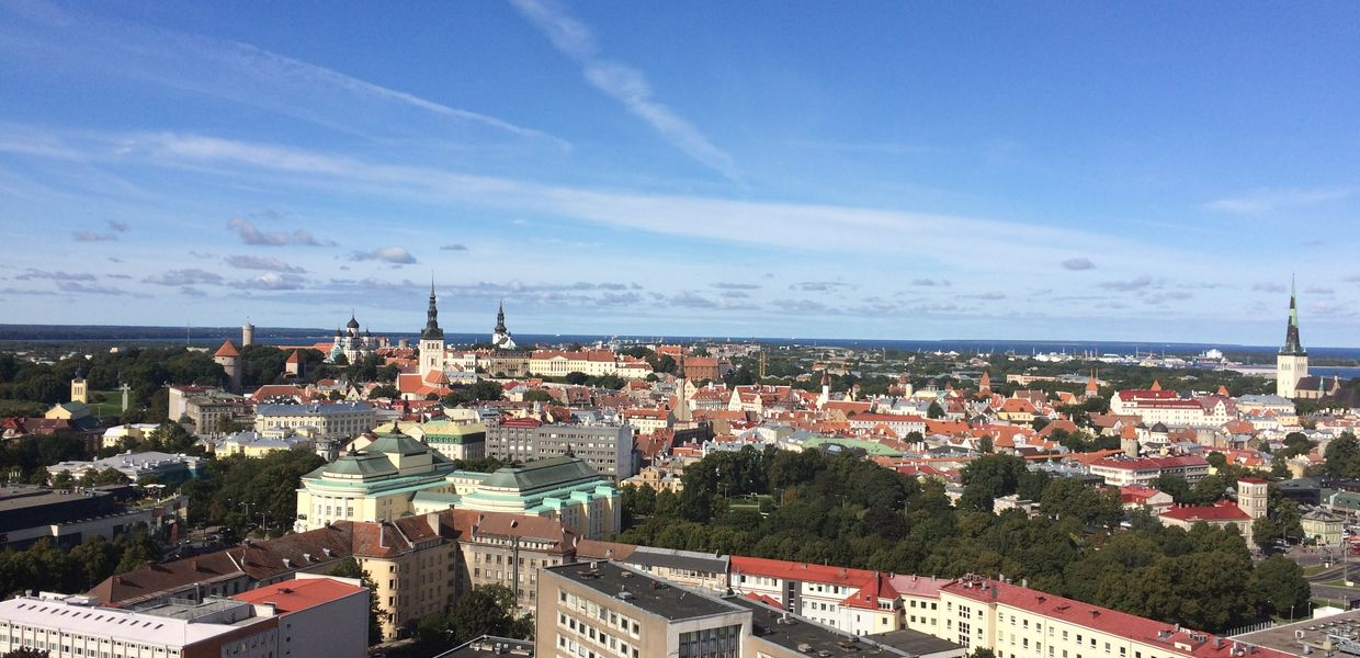 View over Tallinn, capital of Estonia
