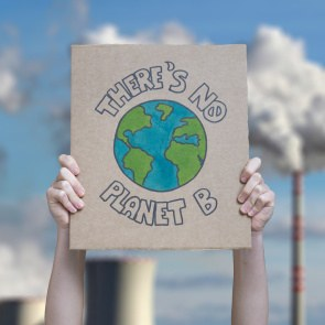 Plakat Theres no planet B